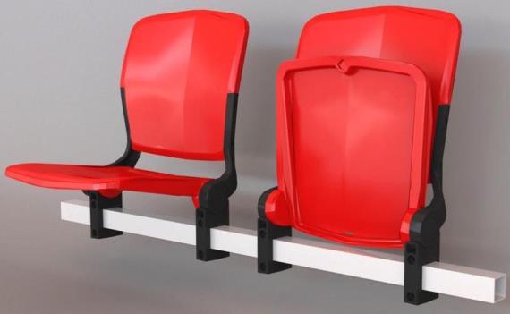 Розкладне крісло для стадіонів УК25